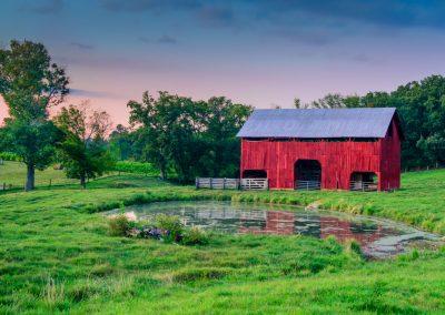 barn art prints red barn blue sky pretty green grass