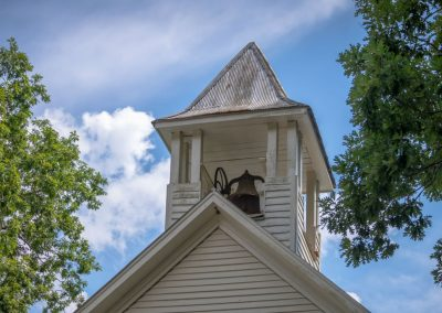 ijams nature center photo exhibit image of old church steeple and bell
